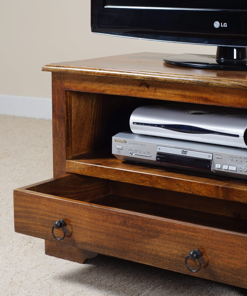 Tenali Mango Small Tv Stand | Casa Bella Furniture Uk With Regard To Small Tv Tables (View 6 of 15)