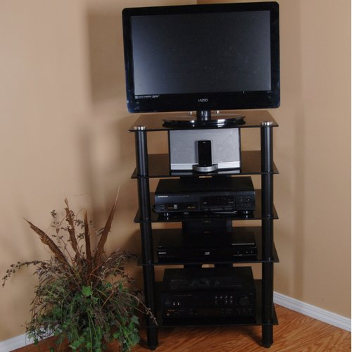 Tier One Designs Tier One Designs Tv Stand For Tvs Up To Inside Single Tv Stands (View 2 of 15)