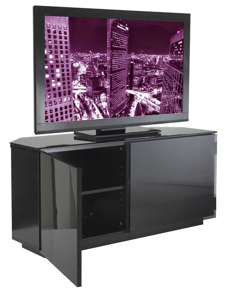 Tokyo High Gloss Black Tv Stand For High Gloss Tv Cabinet (View 10 of 15)