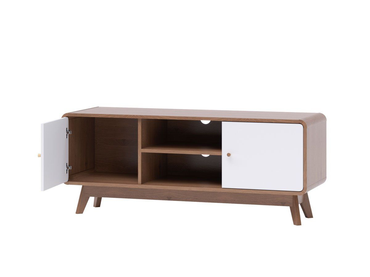 Tv Cabinet Entertainment Unit (freya Collection) | Tv Inside Freya Wide Tv Stands (View 3 of 15)