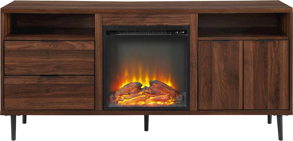 Tv Stands With Built In Electric Fireplace – Fireplace Ideas Intended For Twin Star Home Terryville Barn Door Tv Stands (View 9 of 15)