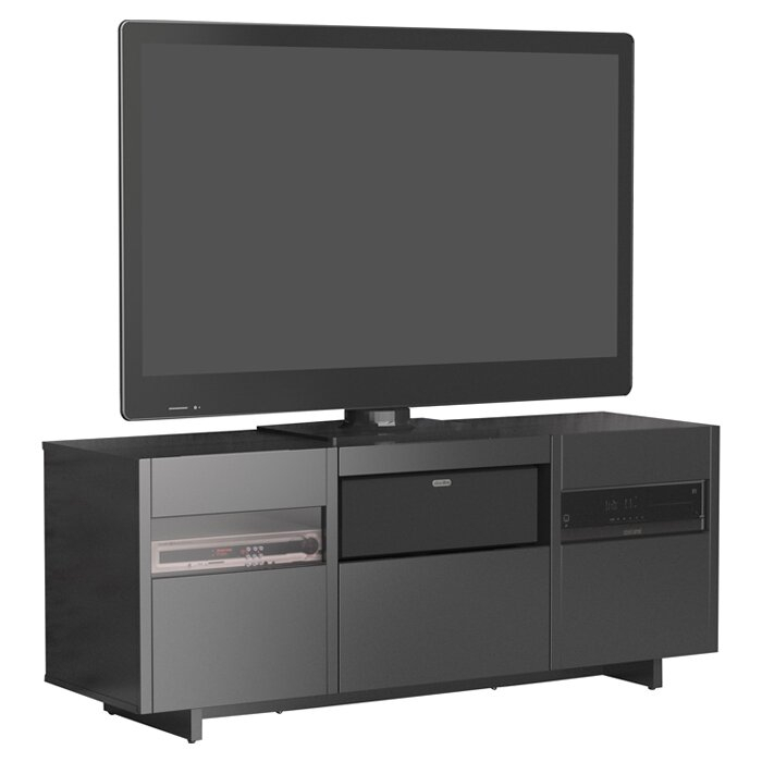 Wade Logan Hopewell Tv Stand With Audio Towers & Reviews Regarding Logan Tv Stands (View 11 of 15)