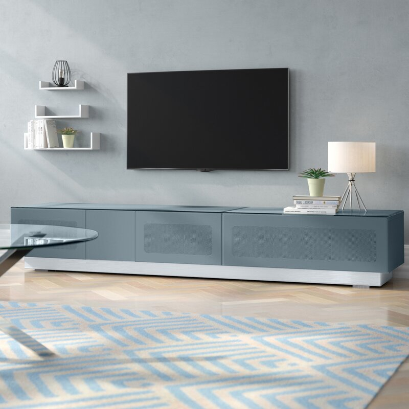 """Wade Logan Tv Stand For Tvs Up To 88"""" & Reviews 