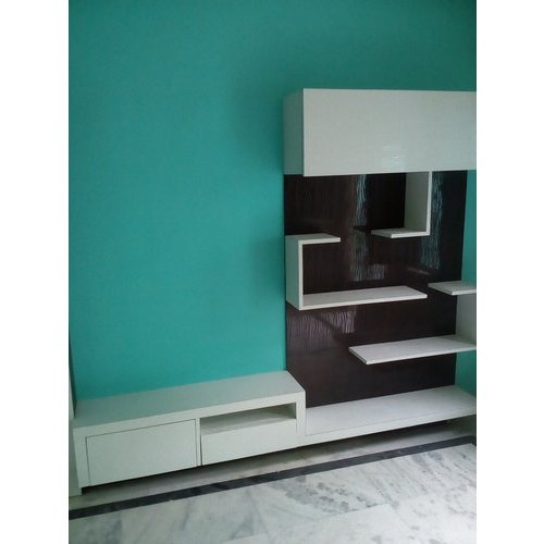 White Wall Mounted Wall Mount Tv Cabinet, Rs 1500 /square Pertaining To Priya Tv Stands (View 4 of 17)