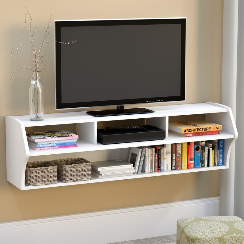 """Winston Porter Carder Floating Tv Stand For Tvs Up To 65 Throughout Aaliyah Floating Tv Stands For Tvs Up To 50"""" (View 9 of 15)"""