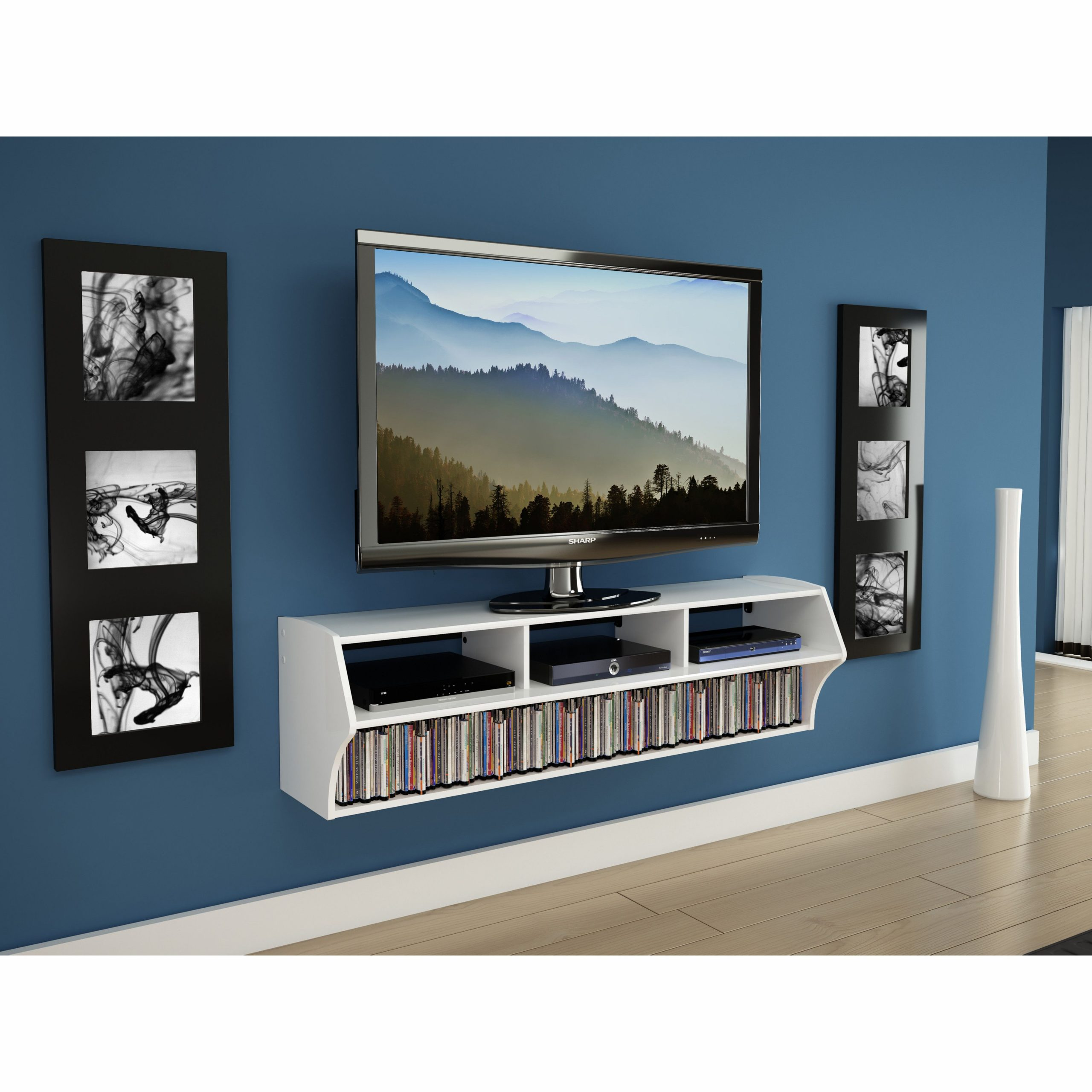 """Winston Porter Carder Floating Tv Stand For Tvs Up To 65 With Aaliyah Floating Tv Stands For Tvs Up To 50"""" (View 6 of 15)"""