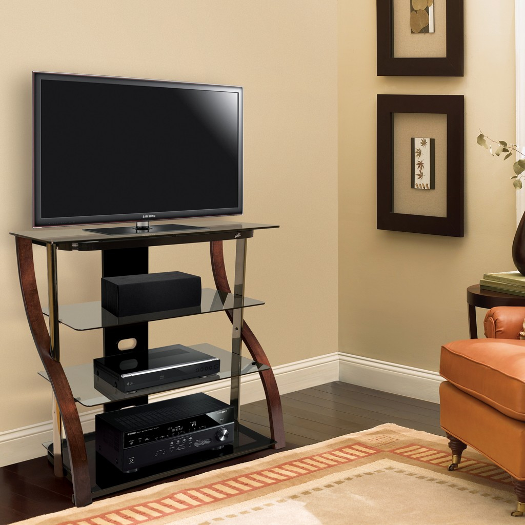 Cw340 Tall Tv Stand | Bello United Kingdom Within Tv Stands (View 11 of 17)