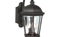 Lithonia Lighting Wall-mount Outdoor Bronze Led Floodlight with Photocell