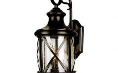 Hampton Bay Outdoor Wall Lighting
