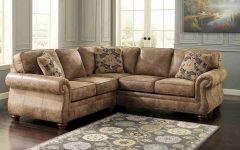 Diana Dark Brown Leather Sectional Sofa Set