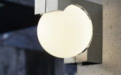 Outdoor Wall Mounted Globe Lights