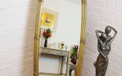 Oval Freestanding Mirrors