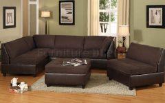 Chocolate Brown Sectional Sofa
