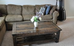Rustic Wood Diy Coffee Tables