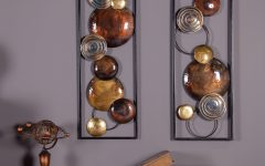 2 Piece Metal Wall Decor Sets by Fleur De Lis Living