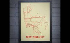 Nyc Subway Map Wall Art