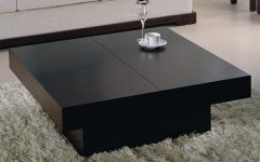 Square Black Coffee Tables