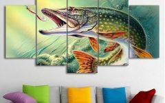 Fish Painting Wall Art