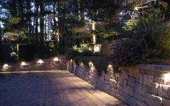 Outdoor Rock Wall Lighting
