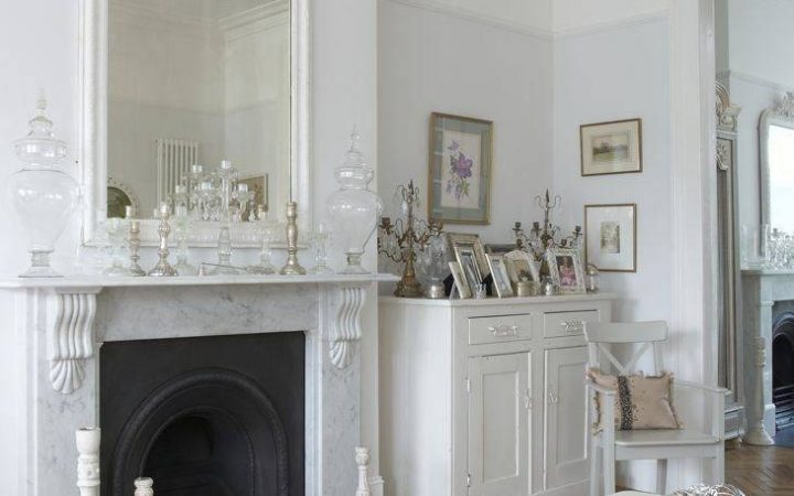 Large White French Mirrors