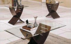 Modern Round Coffee Table Sets