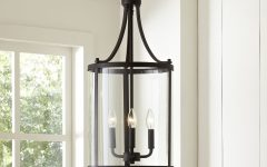 3-light Lantern Cylinder Pendants
