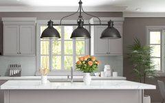 3 Light Pendants for Island Kitchen Lighting