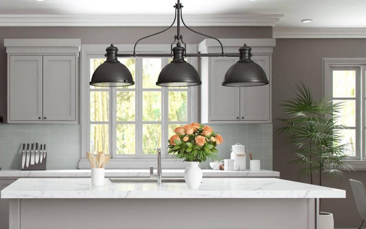 3 Light Pendants for Island Kitchen Lighting