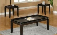 Dark Wood Coffee Table Sets