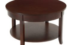 30 Round Coffee Table Wood