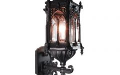 Gothic Outdoor Wall Lighting