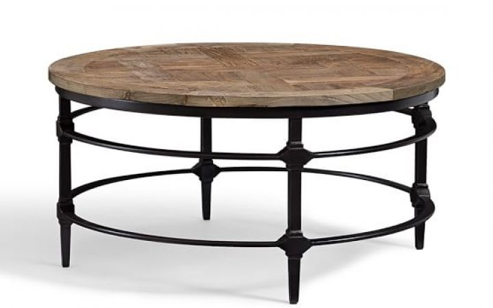 Modern Round Coffee Wood Tables