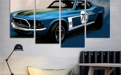 Car Canvas Wall Art