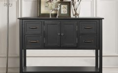 """Searsport 48"""" Wide 4 Drawer Buffet Tables"""