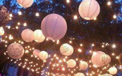 Outdoor Hanging Nylon Lanterns