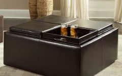 Large Storage Ottoman Coffee Table Simple High Quality