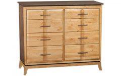 """Douros 42"""" Wide Alder Wood Drawer Servers"""
