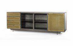 Gunmetal Perforated Brass Sideboards