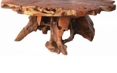 Rustic Teak Coffee Table the Great Furniture