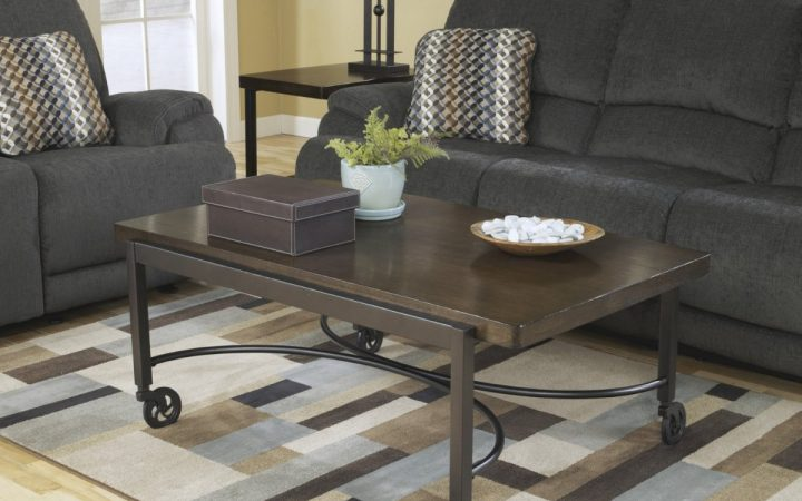Custom Caster Table For Your Living Room