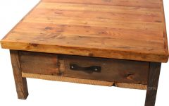Rustic Square Coffee Table Best