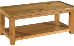 Rustic Oak Coffee Table the Great