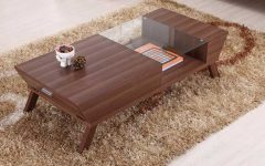 Modern Walnut Coffee Tables