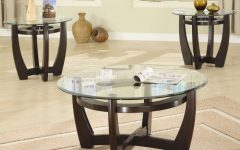 Glass Modern Coffee Table Sets for Decoration