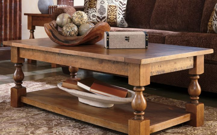 Wood Rustic Coffee Table