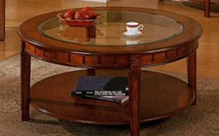 New Round Coffee Table