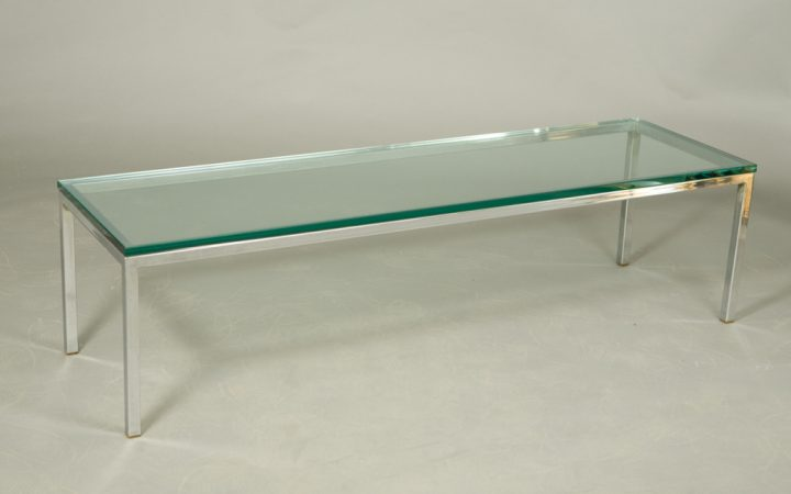 Chrome Glass Coffee Table