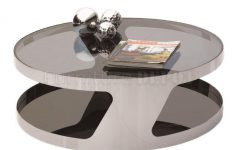 Chrome Round Coffee Tables