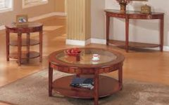 Round Coffee Tables and End Tables