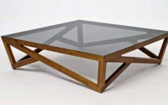 Coffee Tables Glass and Wood